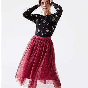 NWT Matilda Jane Sparkle City Midi Skirt